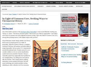 Dewey versus genre