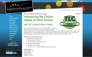 Habits of mind course